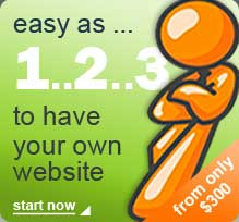 easy as 1,2,3 to have your own website with AndyK Design